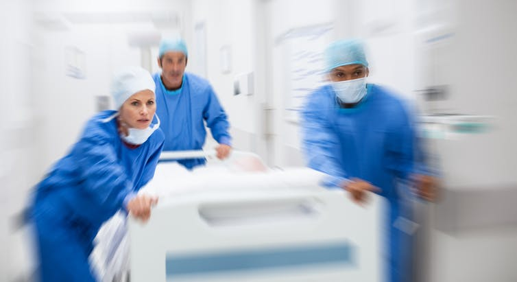 médicos triage